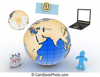 Twenty-four-hour connection in web - Conception of...
