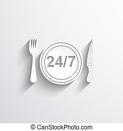twenty four hour delivery food service
