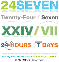 Twenty Four Seven Design Set