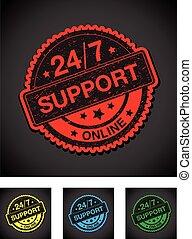 twenty four seven online support