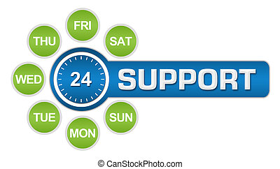 Twenty-Four Seven Support Circular
