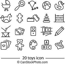 twenty line toys icon