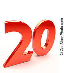 twenty number