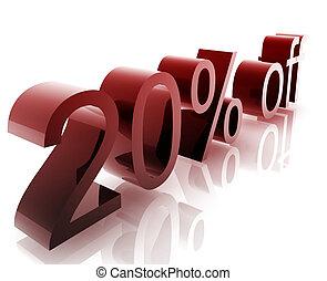 Twenty percent discount - Twenty Percent discount, retail...