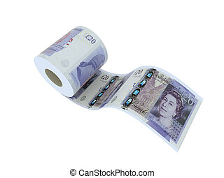 twenty pounds roll - twenty pounds toilet paper 3d...