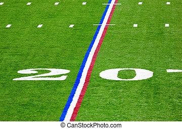 Twenty-yard line