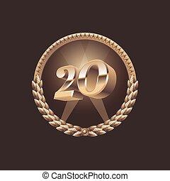 Twenty years anniversary celebratio