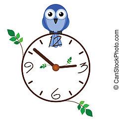Twig clock