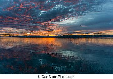 Twilight At Dash Point 3