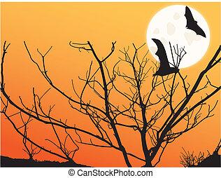 Image of a colorful twilight scene.