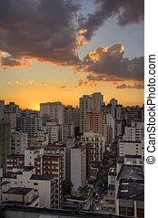 Twilight in Sao Paulo - Twilight in the city of Sao Paulo...