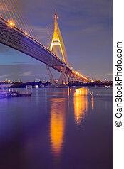 Twilight of Bangkok Suspension