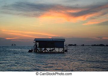 twilight panorama