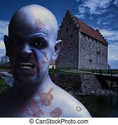 Horror vampire bloody teeth. Horror vampire bloody teeth ...