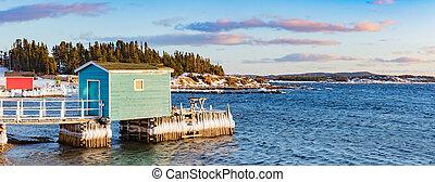 twillingate, 紐芬蘭, 加拿大, 釣魚, nl, 階段