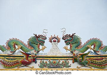 twin, 中国のドラゴン