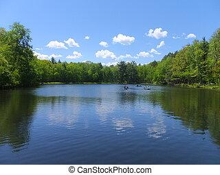 Twin Lakes in Pennsylvania