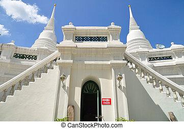 Twin pagodas in Thailand