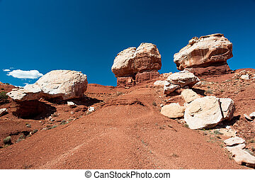 Twin Rocks, Capitol Reef National Park