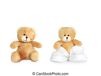 Twin Teddy Bears