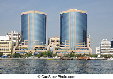 Twin Towers at Dubai Creek, Dubai United Arab Emirates