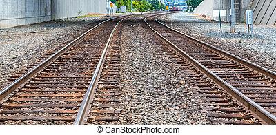 Twin Tracks Curving