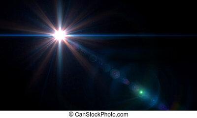 twinkle star lens flare