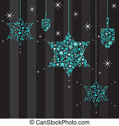 twinkling, david, estrelas, hanukkah