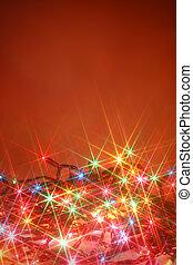 twinkling lights background