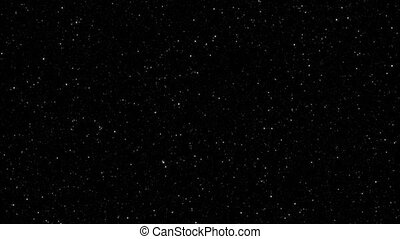 Twinkling Star Field Loop - Hundreds of twinkling stars fill...