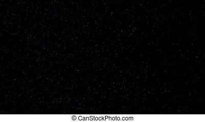 twinkling stars. night sky. cinematic background - twinkling...