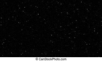twinklling, boucle, lumière étoiles