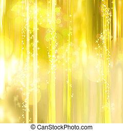 twinkly, zlatý hřeb, a, plíčky, grafické pozadí