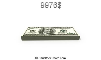 twintig dollars, trillion