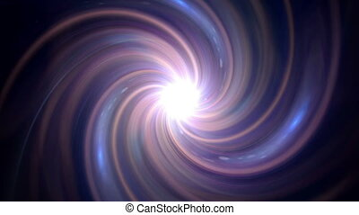 twirl blue pink flare expose - The twirl is rotating with...