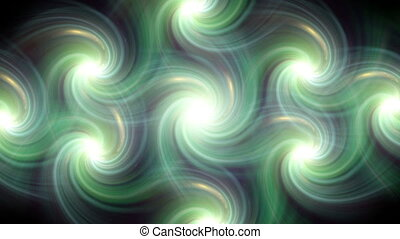 twirl flare pattern green line fade out HD - The circle...