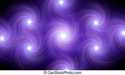 twirl flare pattern purple - The circle shape of twirl ring...