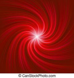 Twirl Light Burst template. EPS 8