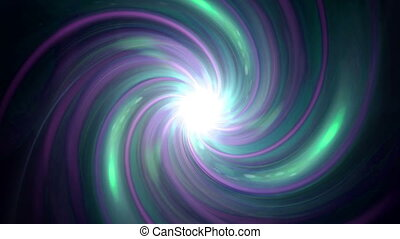 twirl of purple flare expose - The twirl is rotating with...
