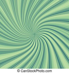Twist rotate ray  abstract background