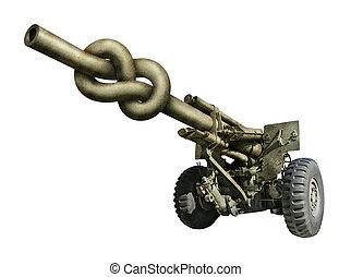 Twisted Artillery Gun