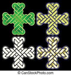 twisted Christian Holy cross