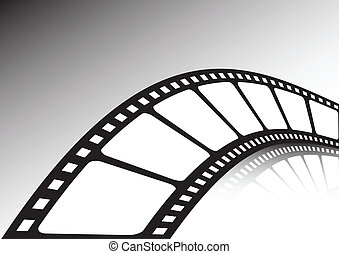 Twisted film strip