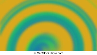 Twisted holographic gradient looped background. Abstract iridiscent seamless texture. 4K dci animation.
