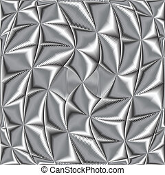 twisted metallic texture, art illustration