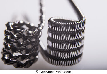 Twisted multi Strand vaping coils example. - Alien Clapton...