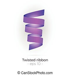 Twisted ribbon vector