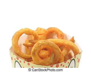Twister fries in the box