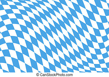 Twistet Bavarian Flag Pattern - Twistet Blue White checked...