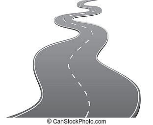 twisty, estrada